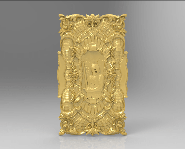 Screenshot_162.png Download free STL file Knight decoration wall hanging medieval • 3D printable design, 3DPrinterFiles
