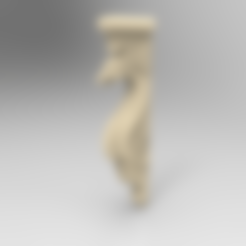 Download free 3D printer designs Dragon decoration art home, 3DPrinterFiles