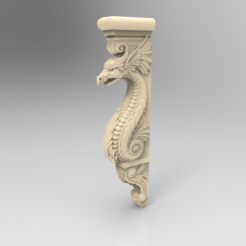 Screenshot_142.png Download free STL file Dragon decoration art home • 3D print object, 3DPrinterFiles