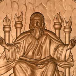 1_2.png Télécharger fichier STL gratuit Dieu au ciel ou en enfer • Modèle pour imprimante 3D, 3DPrinterFiles