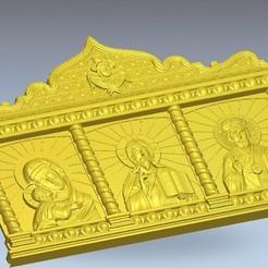 Download free 3D printer model religious saints 3, 3DPrinterFiles