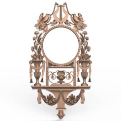 Screenshot_242.png Download free STL file Mirror decoration renaissance art • 3D printer design, 3DPrinterFiles