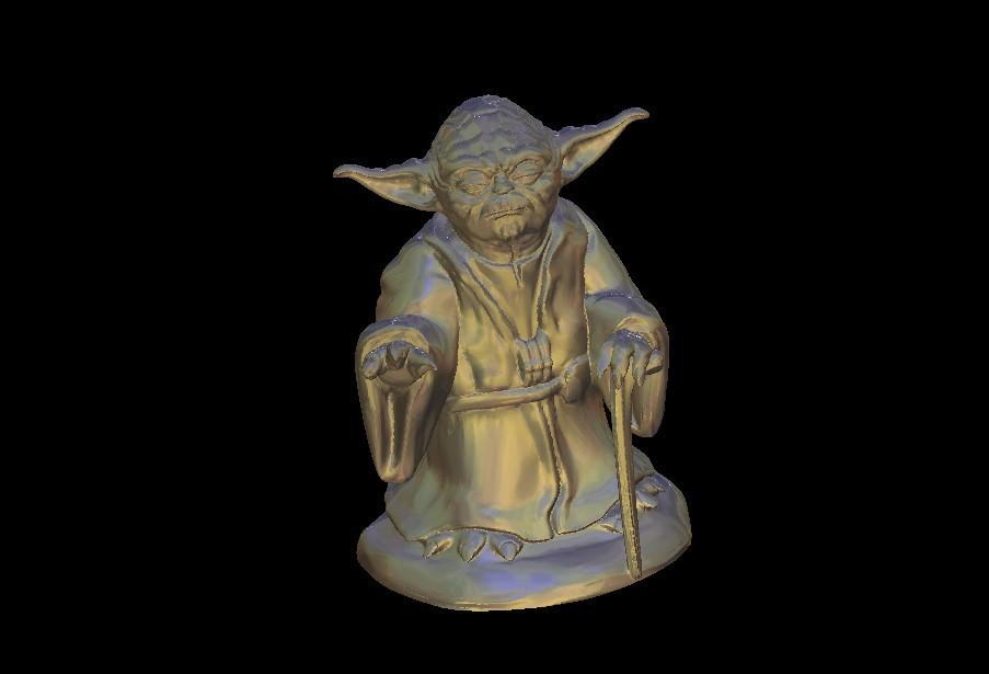 18.jpg Download free STL file Master Yoda from Star Wars • Model to 3D print, 3DPrinterFiles