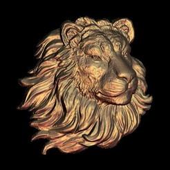 Impresiones 3D gratis maravillosa escultura de busto de cara de león, 3DPrinterFiles