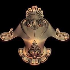 1.jpg Download free STL file medieval renaissance frame decoration moulure • 3D print object, 3DPrinterFiles
