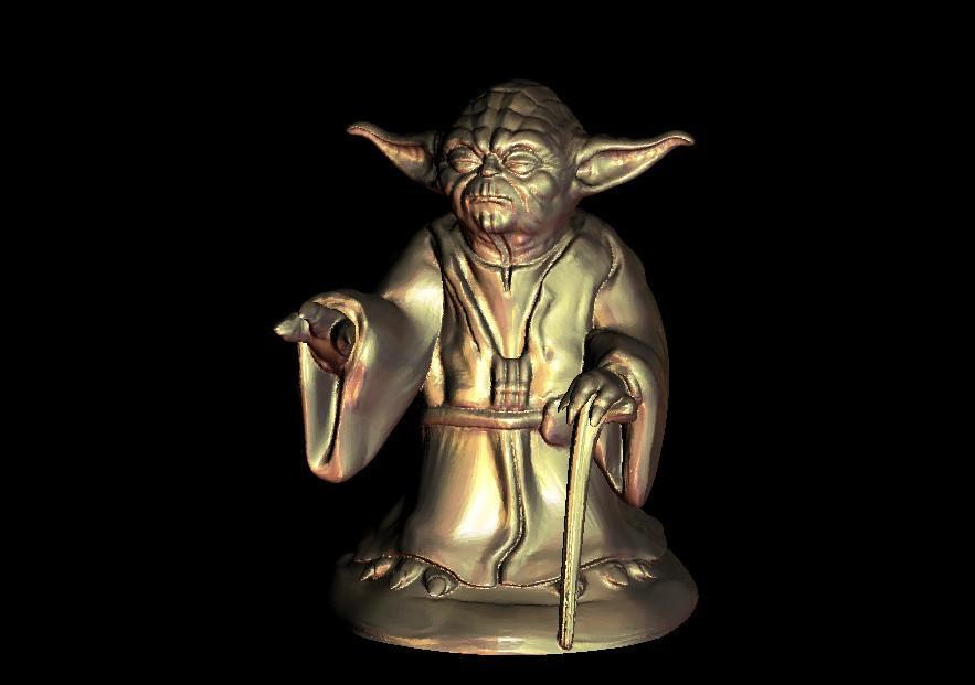 1.jpg Download free STL file Master Yoda from Star Wars • Model to 3D print, 3DPrinterFiles