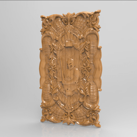 Screenshot_163.png Download free STL file Knight decoration wall hanging medieval • 3D printable design, 3DPrinterFiles