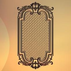 Descargar Modelos 3D para imprimir gratis marco de pared decorativo renacentista, 3DPrinterFiles