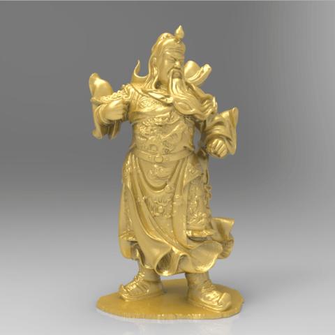 Download free 3D printing templates China warrior chinese war, 3DPrinterFiles