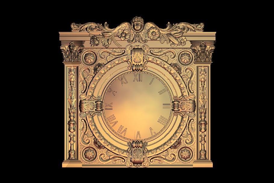 66 (2).jpg Télécharger fichier STL gratuit Une vieille horloge d'époque • Modèle à imprimer en 3D, 3DPrinterFiles