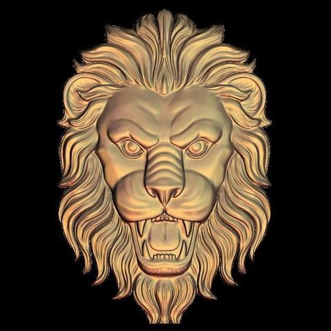 Télécharger plan imprimante 3D gatuit cadre lion féroce, 3DPrinterFiles