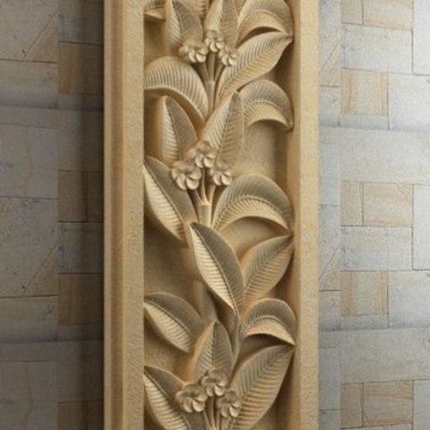 Impresiones 3D gratis pared decoración arte moderno flores, 3DPrinterFiles