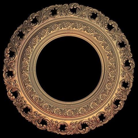 Descargar archivo 3D gratis círculo de cuadro, 3DPrinterFiles