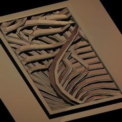 Télécharger fichier imprimante 3D gratuit décoration murale d'art moderne, 3DPrinterFiles