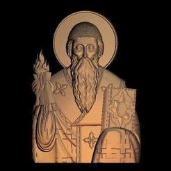 53.jpg Download free STL file religious saint christian • 3D printer template, 3DPrinterFiles