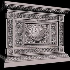 Download free 3D print files renaissance medieval decoration treasure, 3DPrinterFiles