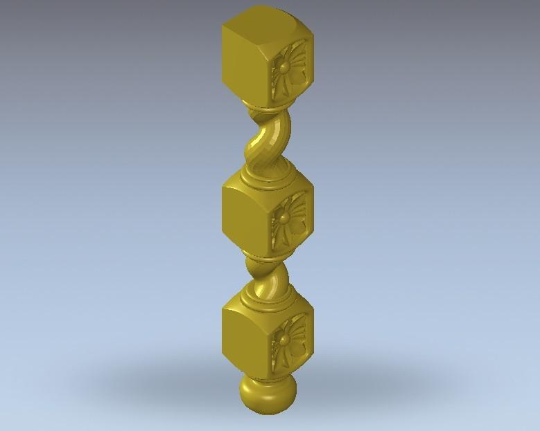 4.jpg Télécharger fichier STL gratuit renaissance vintage vintage old chair art • Design pour imprimante 3D, 3DPrinterFiles