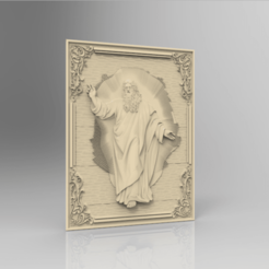 Descargar diseños 3D gratis dios santo religioso cristiano, 3DPrinterFiles
