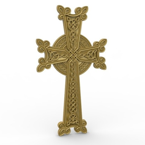 Download free STL files art cross, 3DPrinterFiles