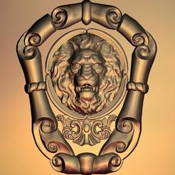 4.jpg Télécharger fichier STL gratuit Cadre lion • Modèle pour imprimante 3D, 3DPrinterFiles