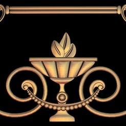 2.jpg Download free STL file medieval renaissance frame decoration moulure • 3D print object, 3DPrinterFiles