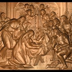 Download free 3D print files Birth of jesus, 3DPrinterFiles