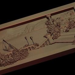 Télécharger fichier imprimante 3D gratuit Belle vue sur un lac, 3DPrinterFiles