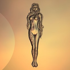 Free 3D print files Sexy naked woman, 3DPrinterFiles