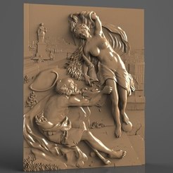 Free 3D printer designs antic art scene cnc art , 3DPrinterFiles