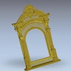 Descargar archivos STL gratis maravillosa puerta del templo religioso medieval, 3DPrinterFiles