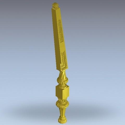 6.jpg Télécharger fichier STL gratuit chaise renaissance • Plan pour imprimante 3D, 3DPrinterFiles