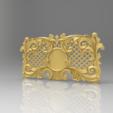 Descargar archivos STL gratis marco decorativo, 3DPrinterFiles