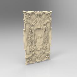 Télécharger STL gratuit Chevalier décoration murale suspendue médiévale, 3DPrinterFiles