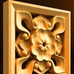 Télécharger objet 3D gratuit cadre renaissance mur porte-moulure murale, 3DPrinterFiles