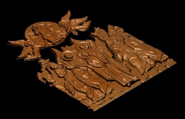 2_1.jpg Télécharger fichier STL gratuit Jésus anges et saints • Plan imprimable en 3D, 3DPrinterFiles