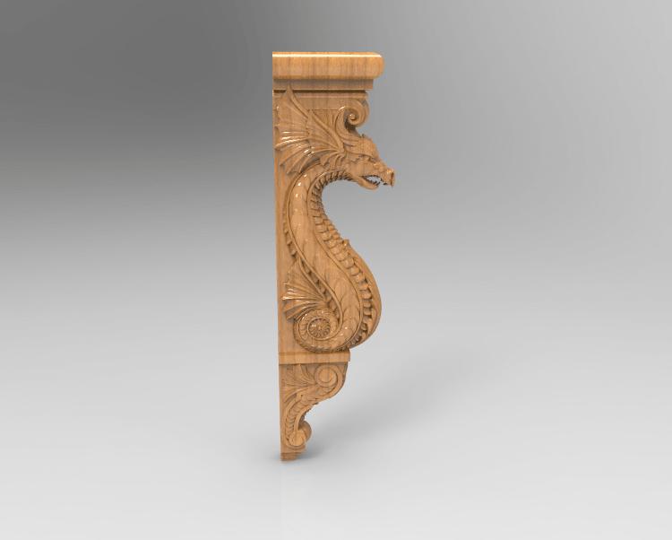 Screenshot_145.png Download free STL file Dragon decoration art home • 3D print object, 3DPrinterFiles