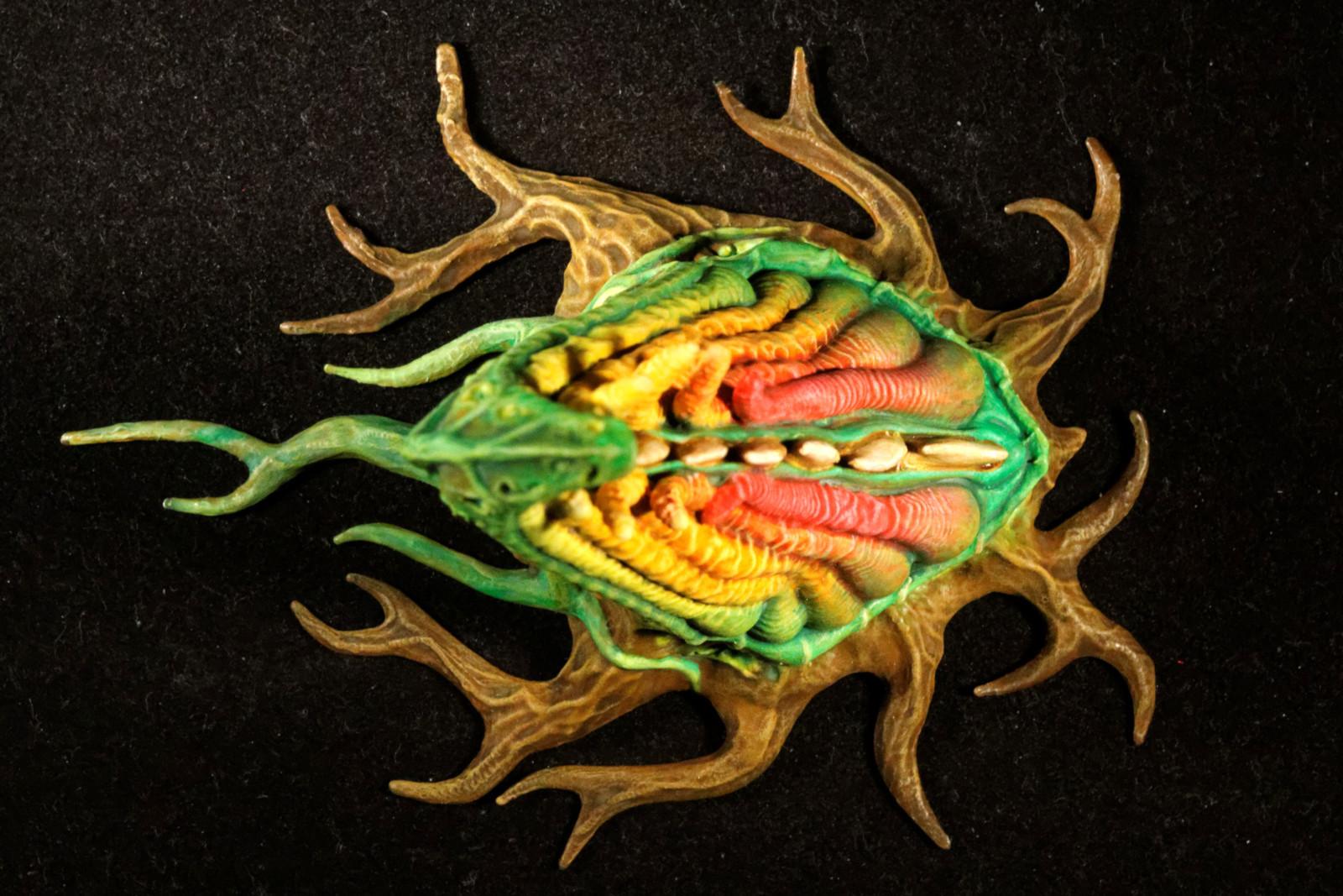 """IMG_6270_DxO.jpg Download free STL file Tabletop plant: """"Tentacular"""" (Alien Vegetation 19) • 3D printer model, GrimGreeble"""