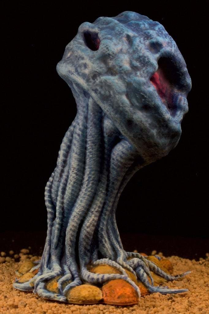 "IMG_6617.jpg Download free STL file Tabletop plant: ""Medusozoa Mushroom"" (Alien Vegetation 25) • 3D printer object, GrimGreeble"