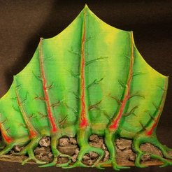 "Free STL Tabletop plant: Alien Vegetation 05 ""Spino-Plant"", GrimGreeble"