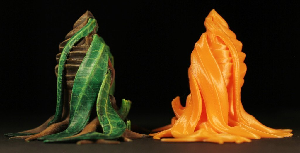 "05685015f573a642f2b7baf760b70ba9_display_large.jpg Download free STL file Tabletop plant: Alien Vegetation 06 ""Welwitschia Ghost Plant"" • 3D printer model, GrimGreeble"