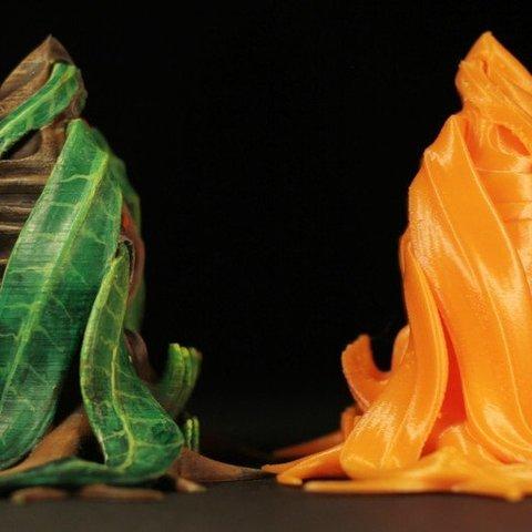"""05685015f573a642f2b7baf760b70ba9_display_large.jpg Télécharger fichier STL gratuit Installation de table : Végétation exotique 06 """"Welwitschia Ghost Plant"""" • Design à imprimer en 3D, GrimGreeble"""