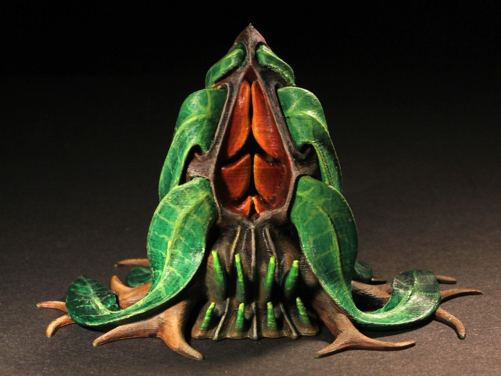 "f97350d1a5e15523563abb58c5b09474_display_large.jpg Download free STL file Tabletop plant: Alien Vegetation 06 ""Welwitschia Ghost Plant"" • 3D printer model, GrimGreeble"