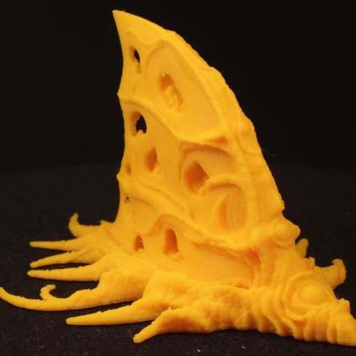 "twitter01.jpg Download free STL file Tabletop plant: ""Shark Plant"" (Alien Vegetation 23) • 3D printer model, GrimGreeble"