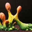 "mb02_x1200.png Download free STL file Tabletop plant: ""Blob Crowd Plant 2"" (Alien Vegetation 17) • 3D printing design, GrimGreeble"