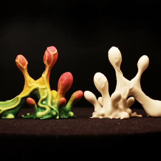 "mb03_x1200.png Download free STL file Tabletop plant: ""Blob Crowd Plant 2"" (Alien Vegetation 17) • 3D printing design, GrimGreeble"