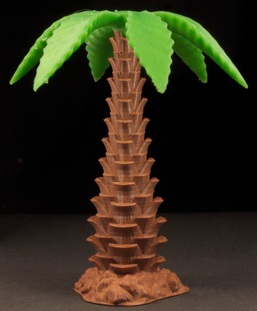a2e3291634ef71ab6550e52d9a1048a9_display_large.jpg Download free STL file Tabletop plant: Palm Tree (01) • 3D printable design, GrimGreeble