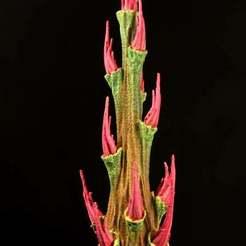 """Download free STL file Tabletop plant: """"Rhododendron Nostril 3"""" (Alien Vegetation 27), GrimGreeble"""