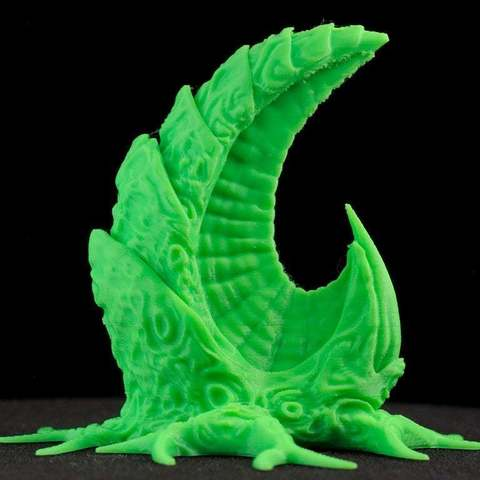 "1212809b301137077f8a63f08f5693da_display_large.jpg Download free STL file Tabletop plant: ""ReapingHookPlant"" (Alien Vegetation 11) • 3D printing template, GrimGreeble"