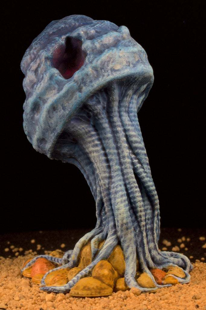 "IMG_6614.jpg Download free STL file Tabletop plant: ""Medusozoa Mushroom"" (Alien Vegetation 25) • 3D printer object, GrimGreeble"