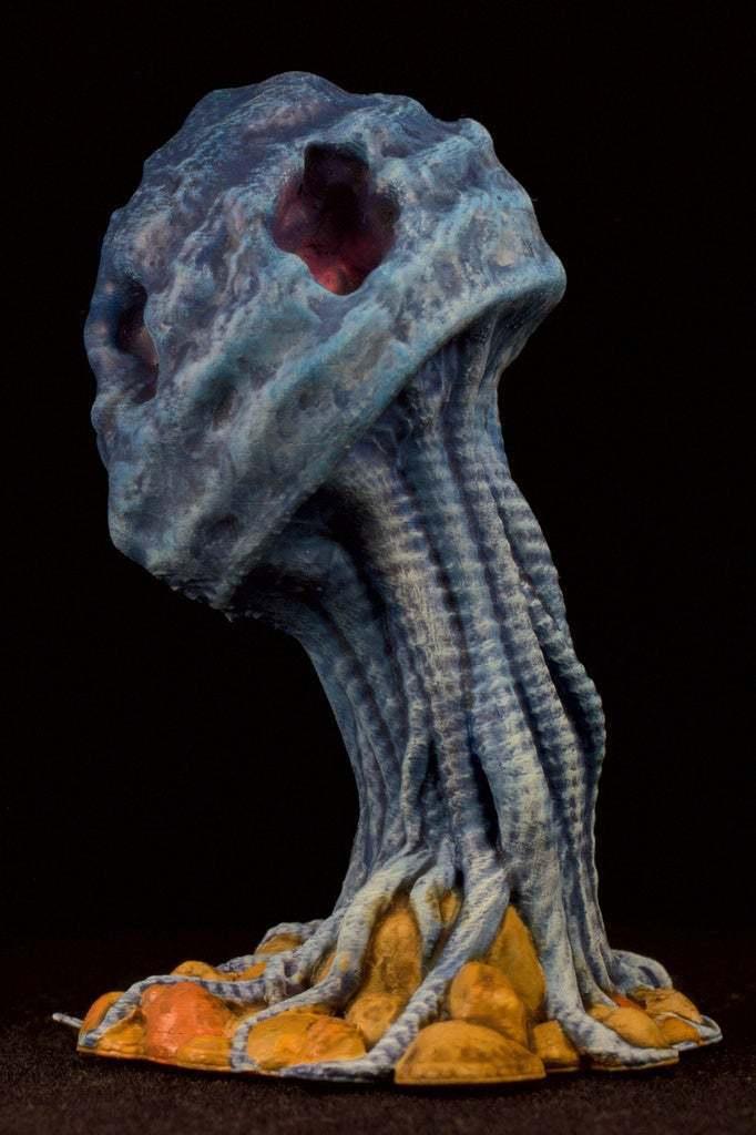 "IMG_6600.jpg Download free STL file Tabletop plant: ""Medusozoa Mushroom"" (Alien Vegetation 25) • 3D printer object, GrimGreeble"